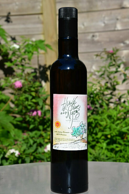 HUILE D'OLIVE NYONS – COULEURS BARONNIES
