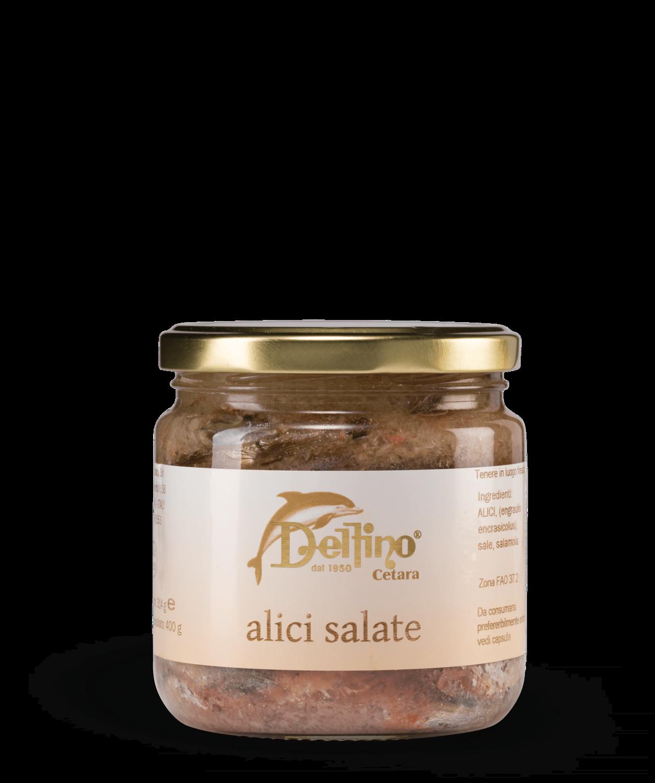Alici Salate (gezouten ansjovis)