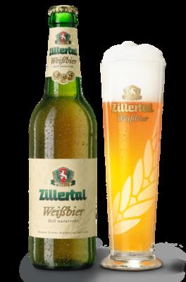 Weißbier Hell Zillertal Bier 0.50 l