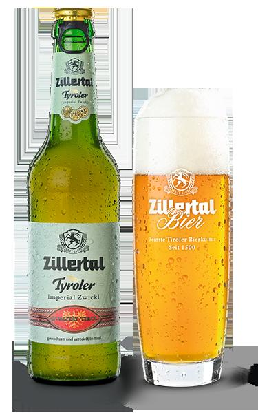Tyroler Imperial Zwickl Zillertal Bier 0.33l