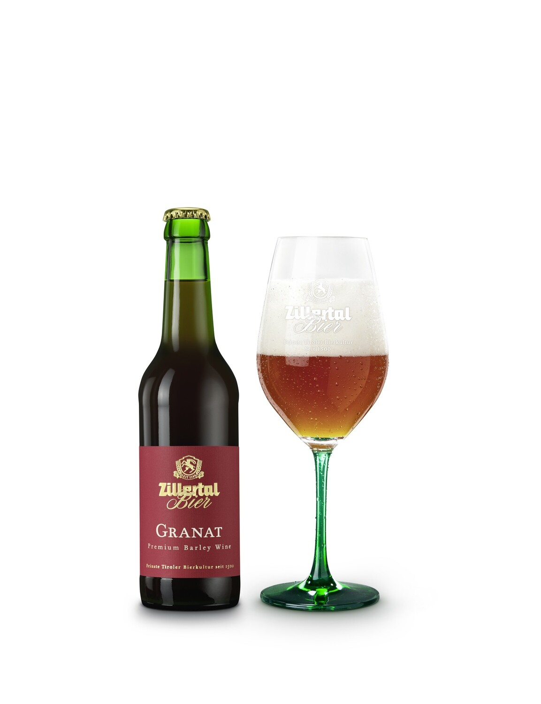 Granat Premium Zillertal Bier 0.33l