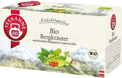 Teekanne Bio Bergkräuter
