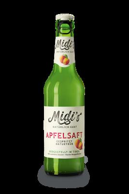 Midi's Apfelsaft 0.33l