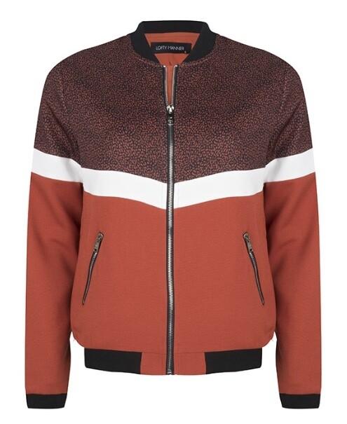 roest bruine jacket