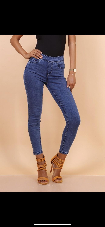 blauwe toxik broek