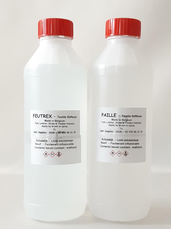 Appret pakket A: FEUTREX: 3x1L & PAILLE: 3x1L