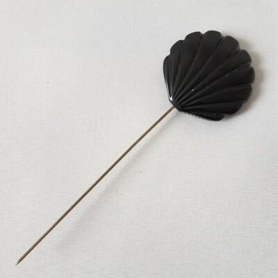 Hatpin - Vintage - schelpvorm in bakelite hars