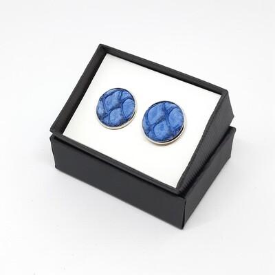 Manchetknopen - Oceanic - konings blauw