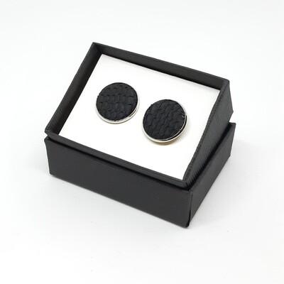 Manchetknopen - Oceanic - zwart