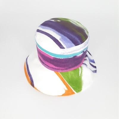 Bucket hoed met veel kleur - mt 55