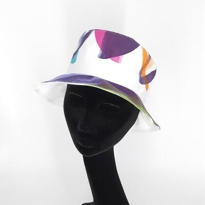 Bucket hoed met veel kleur - mt 58