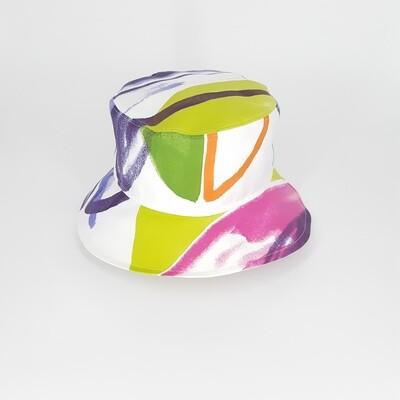 Bucket hoed met veel kleur - mt 57