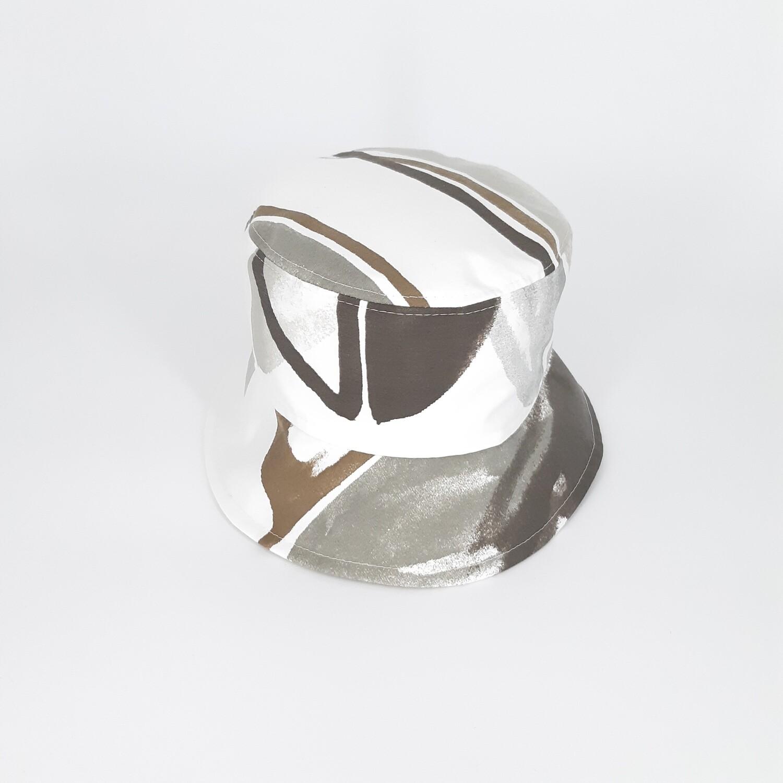 Bucket hoed met grijze print - mt 55