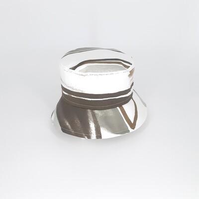 Bucket hoed met grijze print - mt 56