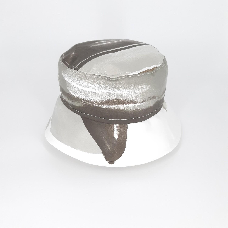 Bucket hoed met grijze print - mt 60