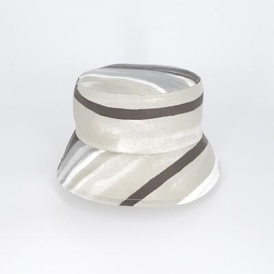 Bucket hoed met grijze print - mt 57