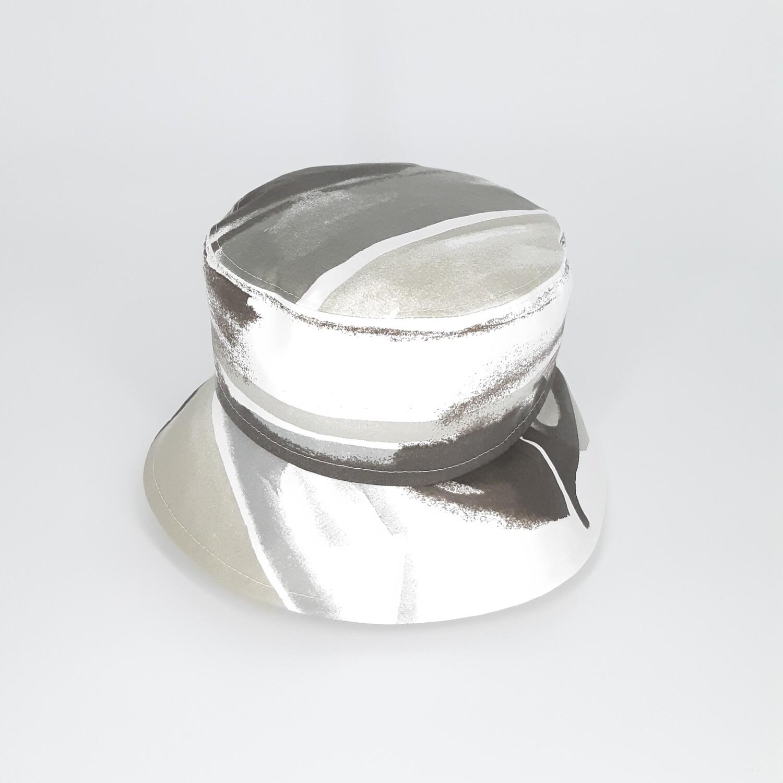 Bucket hoed met grijze print - mt 59
