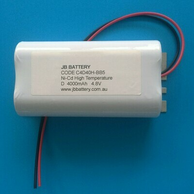 (2+2) x D4000mAh 4.8V Ni-Cd HT 2Stick/SBS+Tray B5 The Lead 1000mm