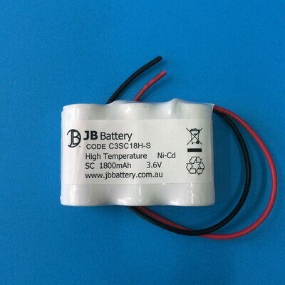 3 x SC1800mAh 3.6V Ni-Cd HT SBS Lead 22# 250mm