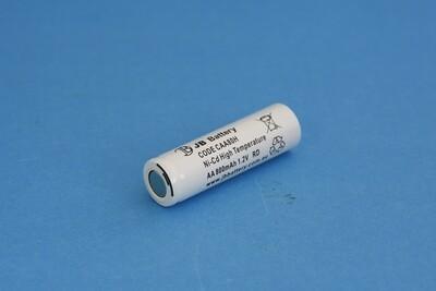 Single Cell AA 800mAh Ni-Cd HT 1.2V Flat Head