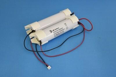 (2+2) x D4000mAh 4.8V Ni-Cd HT 2+2Stick Plug C3+Cap K1