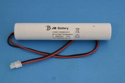 3 x D4000mAh 3.6V Ni-Cd HT Stick Plug C1