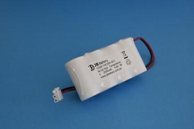 4 x C2500mAh 4.8V Ni-Cd HT SBS Plug C1 250mm