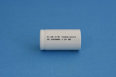 Single Cell SC 2000mAh 1.2V Ni-MH HT