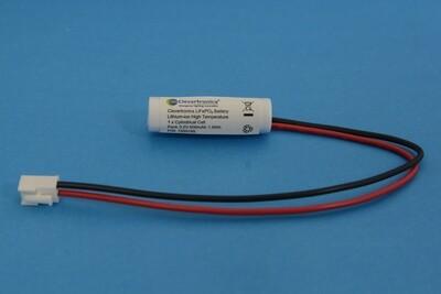 LiFePO4 IFR14500 3.2V 600mAh PCB+Plug C34