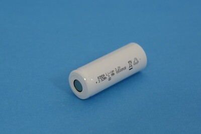 LiFePO4 Single Cell IFR18500MUB 3.2V 1100mAh