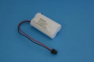 LiFePO4 2xIFR18650MUB 6.4V 1.5Ah SBS PCB+Plug C60