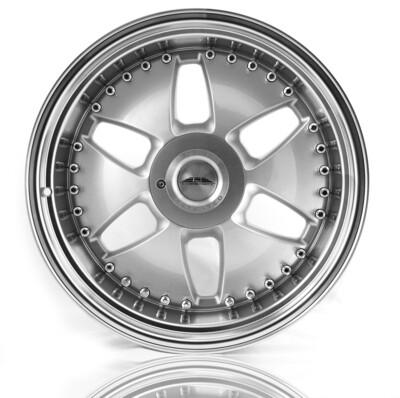 CJ1 - Crownjewel - Silver / Poliertes Bett