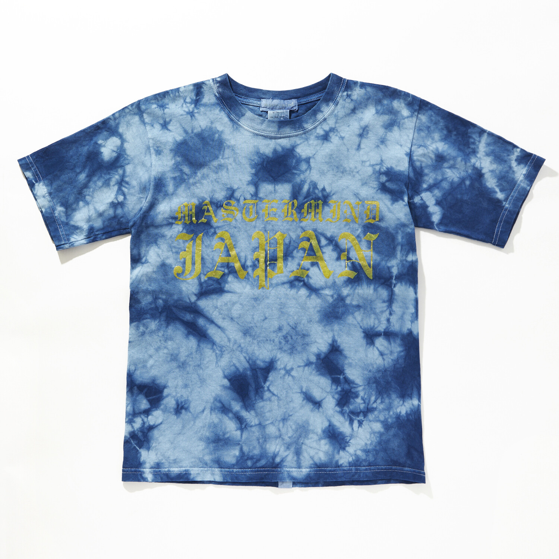MASTER MIND / マスターマインドゴールドプリント Tシャツ