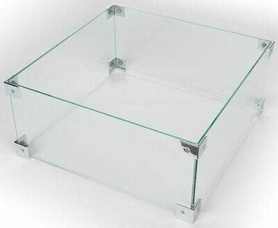 HAPPY COCOONING Glazen Ombouw Cocoon Table Vierkant Klein