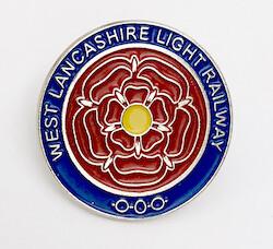 West Lancs logo pin badge