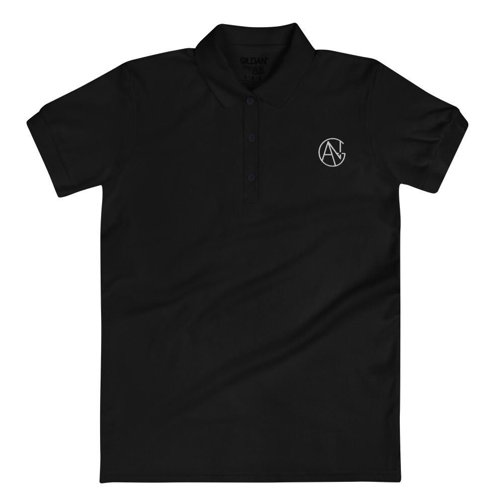 ANG Productions Logo - Embroidered Women's Polo Shirt