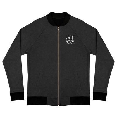 Unisex Ang Productions Black Bomber Jacket