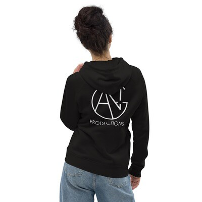 ANG Productions - Black - Unisex pullover hoodie