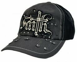Rhinestone Faith Trucker Hat