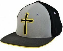 Onyx Cross Yellow Flat Bill