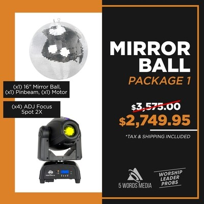 Mirror Ball - Package 1