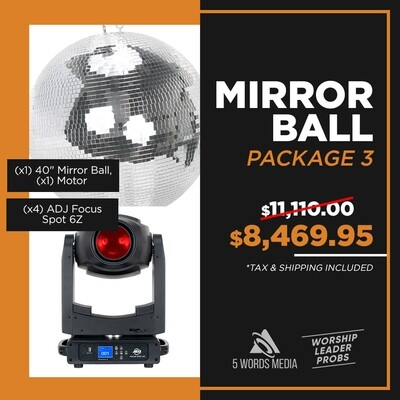 Mirror Ball - Package 3