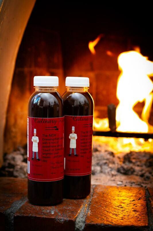 Culinary Zest Dressing & Marinade - 1 Bottle SAMPLE Box - 16 oz FREE SHIPPING