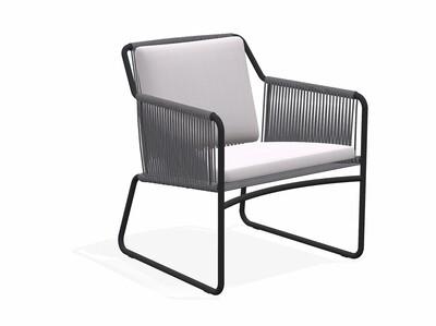 Roda HARP 368 Lounge Chair (inkl. Sitz- und Rückenkissen)