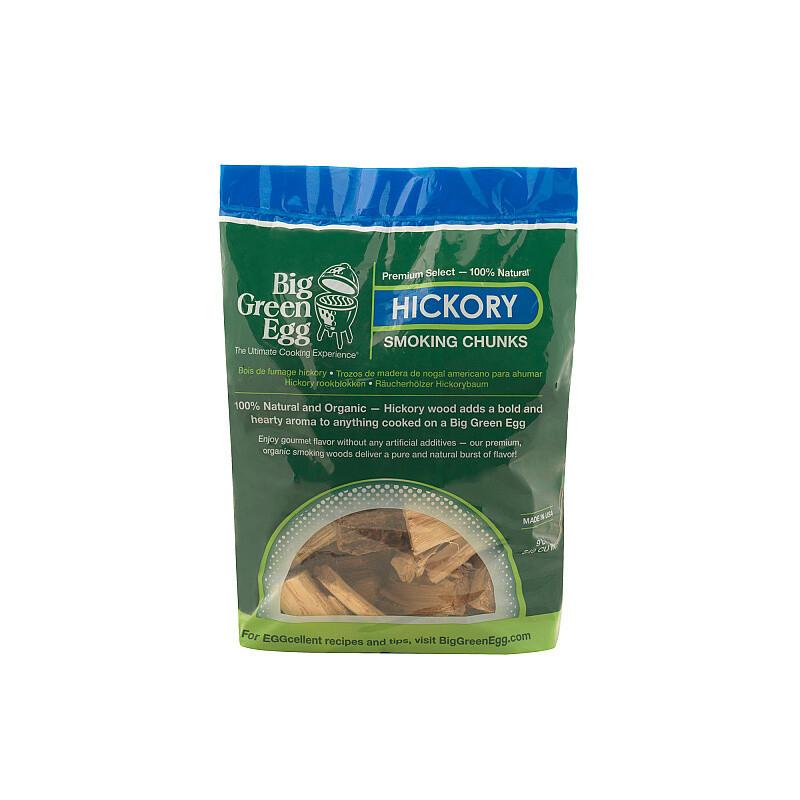 BIG GREEN EGG Holzstücke Hickory