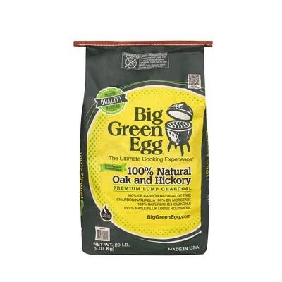 BIG GREEN EGG Premium-Holzkohle