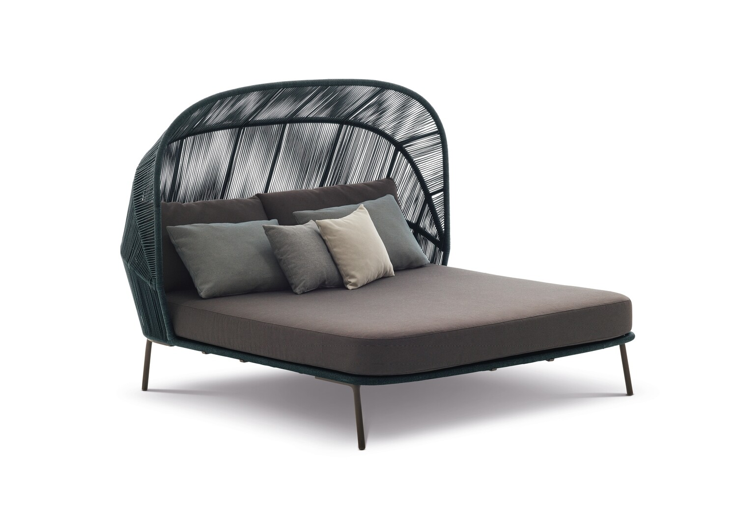 Dedon RILLY Cocoon Doppel-Daybed inkl. Kissenset