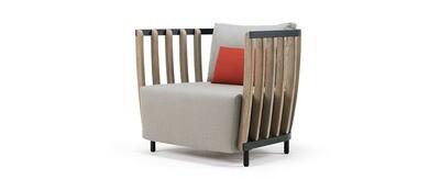 Ethimo SWING Lounge Sessel inkl. Sitz-/Rückenkissen
