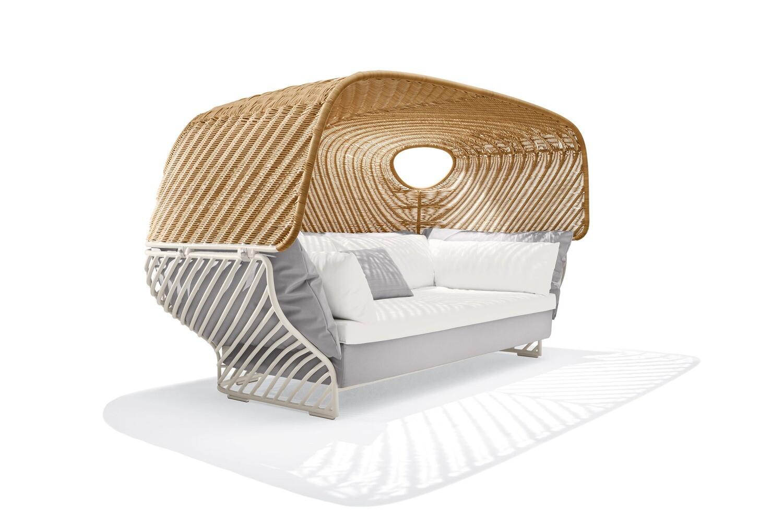 Dedon TIGMI Sofa mit Dach inkl. Sofa Kissen-Set