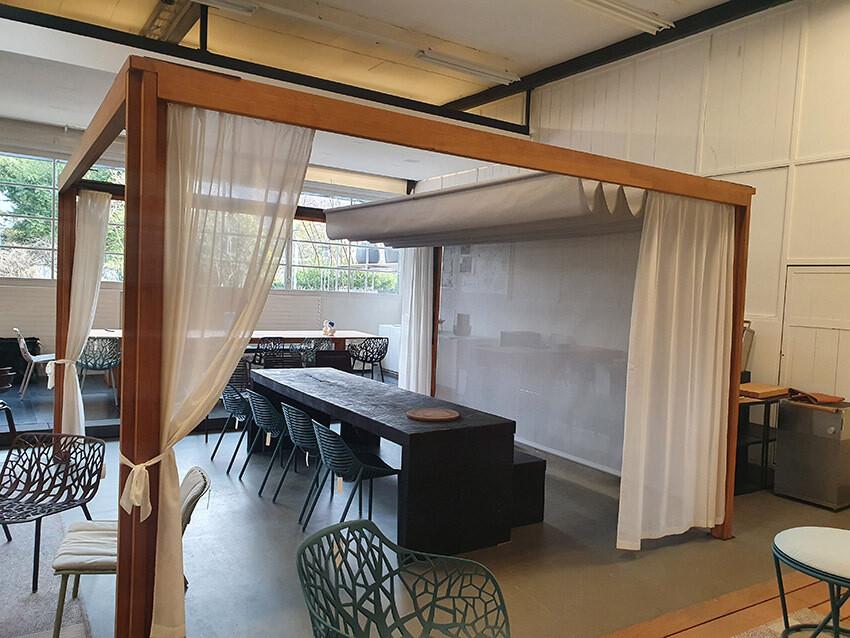 Roda, Pavillon OASIS 230 Teak